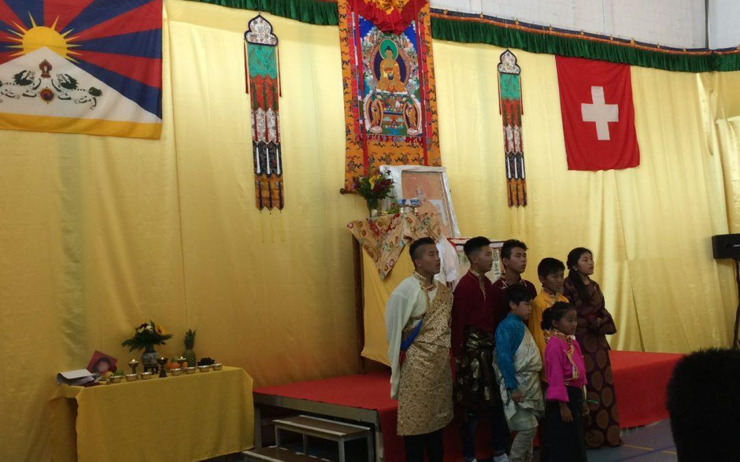 Tibetisches Fest zum 80. Geburtstag S. H.  im Ripa International Center