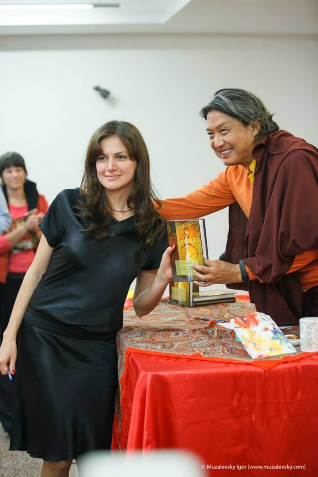 Tatyana with GJR